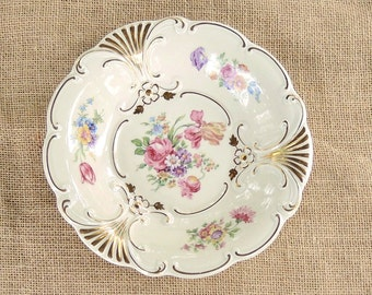 Beautiful Plankenhammer Floss Bavaria Serving Bowl , Made in Germany Decorative Rococo Serving Bowl
