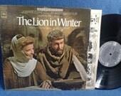 "RARE, Vintage,  John Barry ""The Lion In Winter"" John Barry, Original Soundtrack Score, Vinyl LP, Record Album, John Castle"