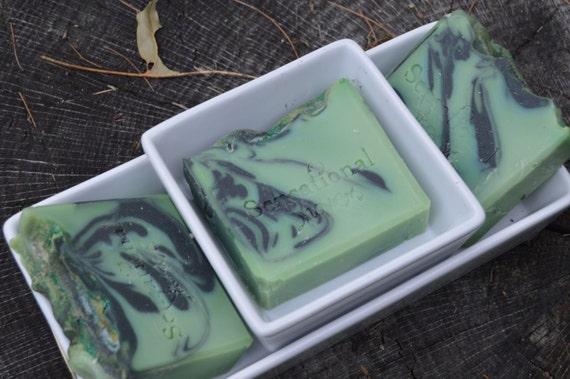 Green Tea Herbal Artisan Soap Bar 5oz