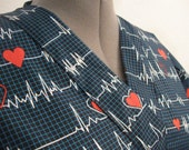Calling all Nurses Heartbeat scrub top