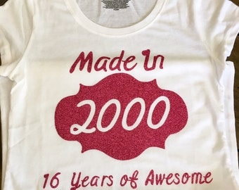Made In.... Tshirt