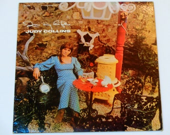 Rare Judy Collins - In My Life - Elektra Records 1966 - Vintage Vinyl LP Record Album EKS 7320