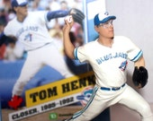 Tom Henke Figurine, The Terminator, With Box, Blue Jays, Toronto, Collectible, Vintage Toys, Antique Alchemy