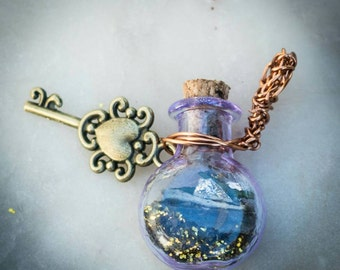 Hades Talisman/witch bottle, no. 3 of four! Protective charms dedicated to Hades, Greek god of the underworld. Theoi hades aidoneus