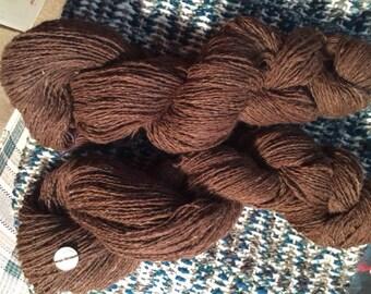 Handspun Alpaca Sock Yarn