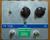 Phosphene Audio Feedback Interface with Vintage Knobs