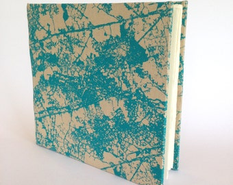 Large Hard Cover Journal - Blank Pages