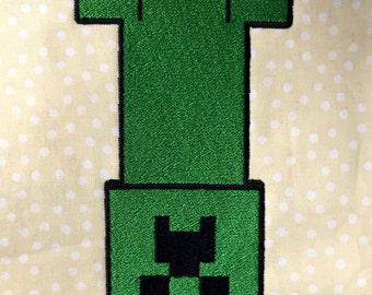 Minecraft Creeper - Machine Embroidery Design - 2 Sizes