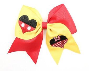 Heart Mickey/Minnie Clip