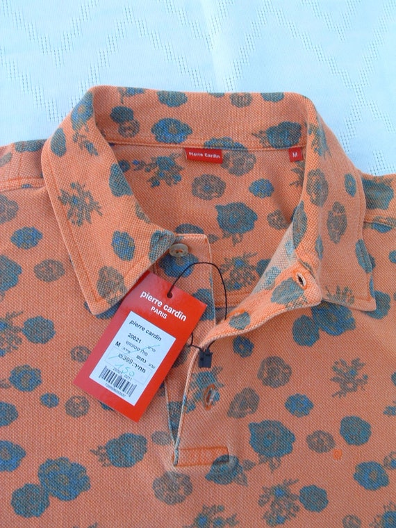 free shipping PIERRE CARDIN cotton  shirt never been ware  made in France circa 1994's