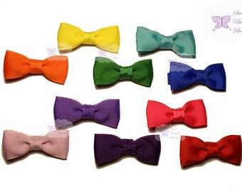 Rainbow Tux Bow Set