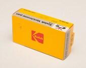 Kodak VERICHROME PAN 126 B&W Film Cartridge - unexposed from Sept 1987 - unopened box