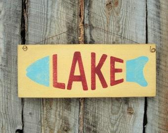lake home decor | etsy