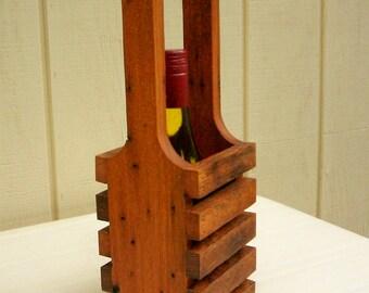 Wine Tote-Wine Carrier-Wine Display-Beverage Carrier