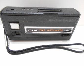 Vintage Kodak Tele-Instamatic Camera--608