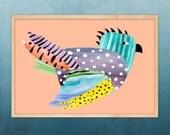 bird I, print A3 size