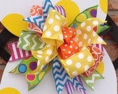 Custom Bow Handmade Bow Replacement Bow Large Bow Gift Bow Wreath Bow