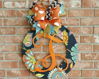 Fall Wreath Wood Wreath Front Door Decor Home Decor Wedding Gift Birthday Gift Wall Decor Front Door Hanger