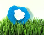 Blue Flower, Puppy Petal