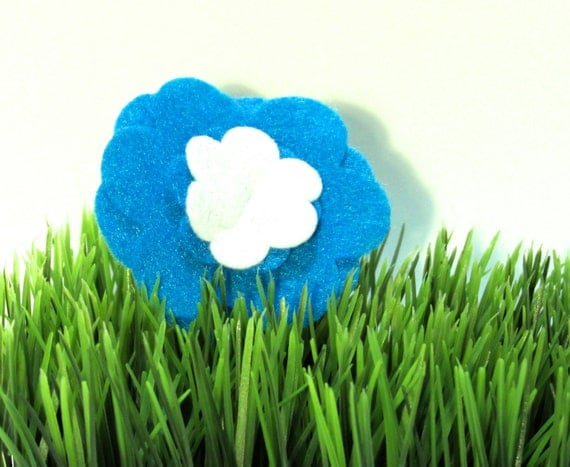 Blue Flower, Puppy Petal
