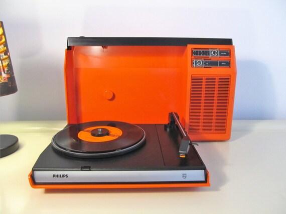 Vintage Record Player Retro Rare Philips Type 270 Vinyl Lp