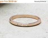 SUMMER SALE - Pink rose gold ring,engagement ring,gemstone ring,diamond ring,stacking ring,tiny stone ring,thin ring,simple gold ring