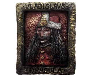 Vlad Dracvlea - Vlad the Impaler Portrait Soap, 9 oz. Bath Sabbath Exclusive