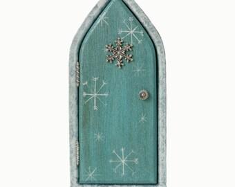Secret garden fairy door for home and garden by for Secret fairy doors by blingderella