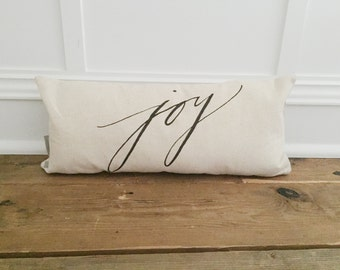 Joy Pillow Cover