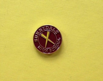 SUPER SALE 50% off! Buffy the Vampire Slayer inspired Sunnydale High School fan pin look Hellmouth Firefly Serenity Comic Con Angel Willow