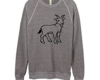 Goat Unisex Sweatshirt Shirt Men Women