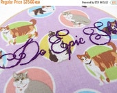 CLOSING SALE - ON Sale - Do Epic Sh!t Hand Embroidery Hoop with Cats - Motivational Stitching in Purple with cats did i mention the cats - M