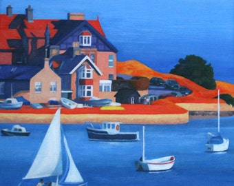 Alnmouth Estuary - Limited Edition Print