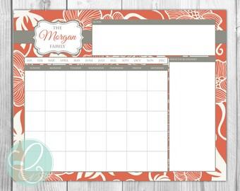 Calendar - Printable 16x20 Dry Erase Calendar