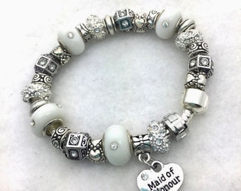 Maid of Honor Charm Bracelet