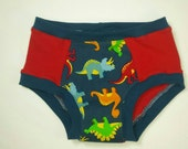 Dinosaurs with red knit Anibums Knit Underwear