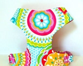 "Sale 50% Off Multi Floral Soft Comfort Dog Harness ""Ashley"" - Soft on Your Dogs Skin"