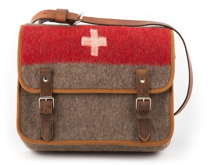 Featured listing image: WD6 Swiss Army Blanket Laptop Bag by Karlen Swiss