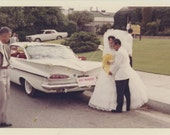 Vintage Snapshot Photo: Just Married, c1960s (68493)