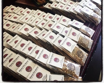 Sample Spice Seasoning Packs, Your choice of 10 sample spice packages. 1/2 oz. each.