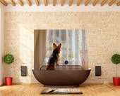 Shower Curtain Yorkie Yorkshire Terrier