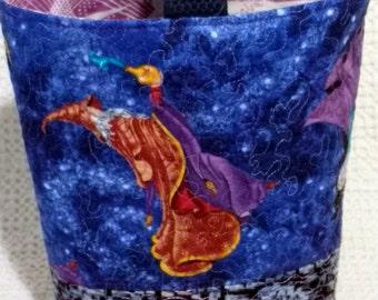 The Purple Wizard Sock Knitting Bag