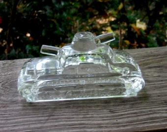 glass tank candy container