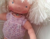 Molly is a beautiful Waldorf doll 21 inches tall.