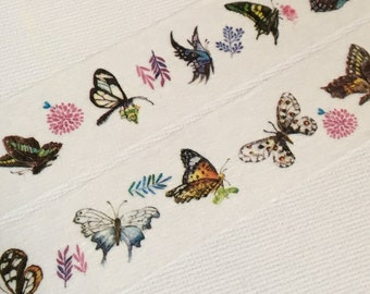 1 Roll of Limited Edition Washi Tape: Dancing Butterfly