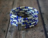 Dr Who, Dr Who gift, Dr Who bracelet, tardis, tardis bracelet, tardis gift, charm bracelet, literary gift, recycled book bracelet, book gift