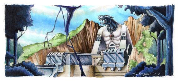 ThunderCats - Cat's Lair Poster Print