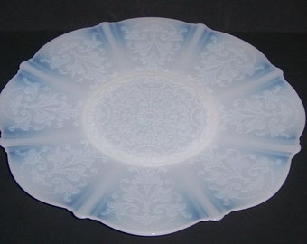 MacBeth Evans Monax AMERICAN SWEETHEART 10 1/2 Inch SALVER Plate