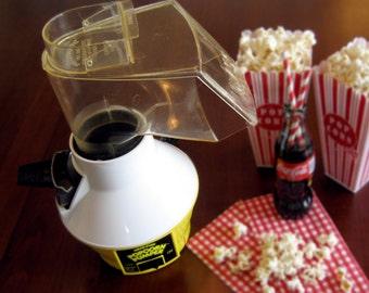 No Oil Popcorn Popper - WearEver Popcorn Pumper- Hot Air Corn Popper - Quality USA Made Oil Less Corn Popper - Corn Popper Plus Instructions