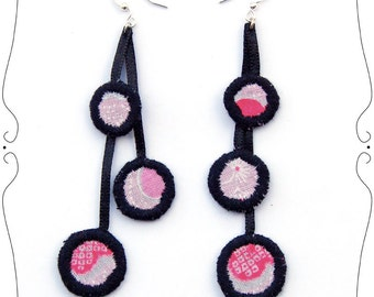 Bubbles earrings by MW